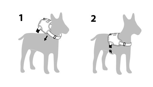 Above harness usage