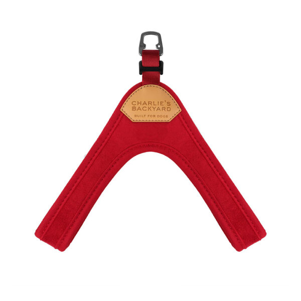 Buckle Up Easy Harness Red