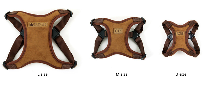 Comfort Harness Grössentabelle
