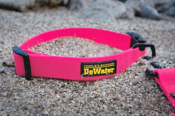 DeWater Collar Pink mit Leine