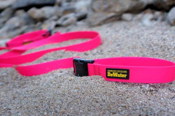 DeWater Leash Pink