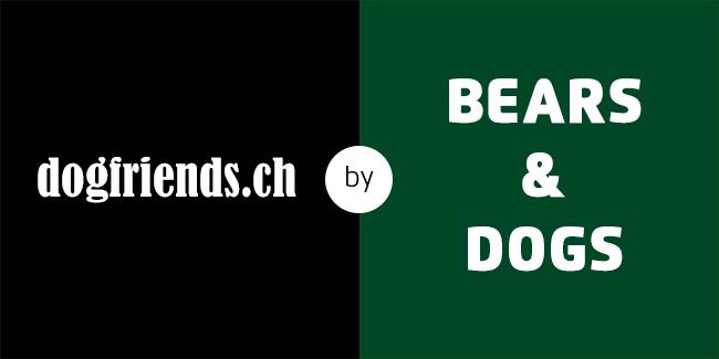 Logo dogfriends.ch by Bears & Dogs GmbH